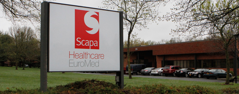 Scapa Healthcare's Hydrocolloid Technology Center in Orangeburg, NY Offers In-House R&D, Design and Manufacturing of Medical Hydrocolloid Adhesives for Consumer and Advanced Wound Care